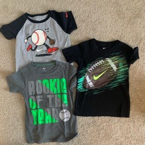 Sport T-shirt's for boys size 4